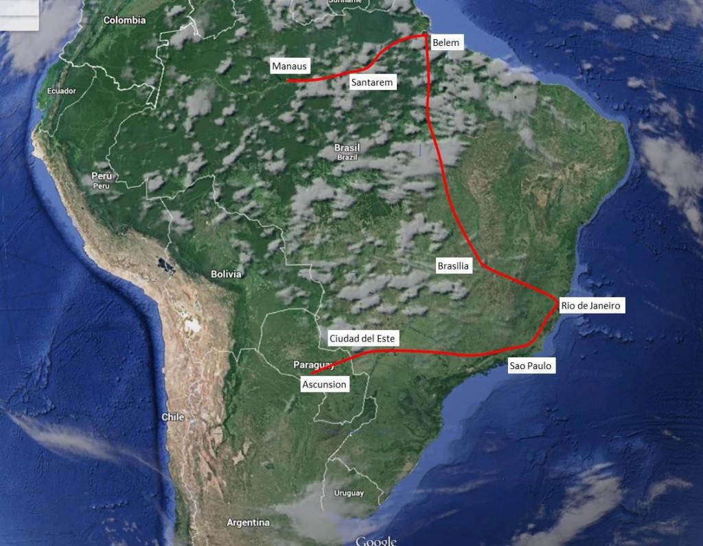 South America (East)