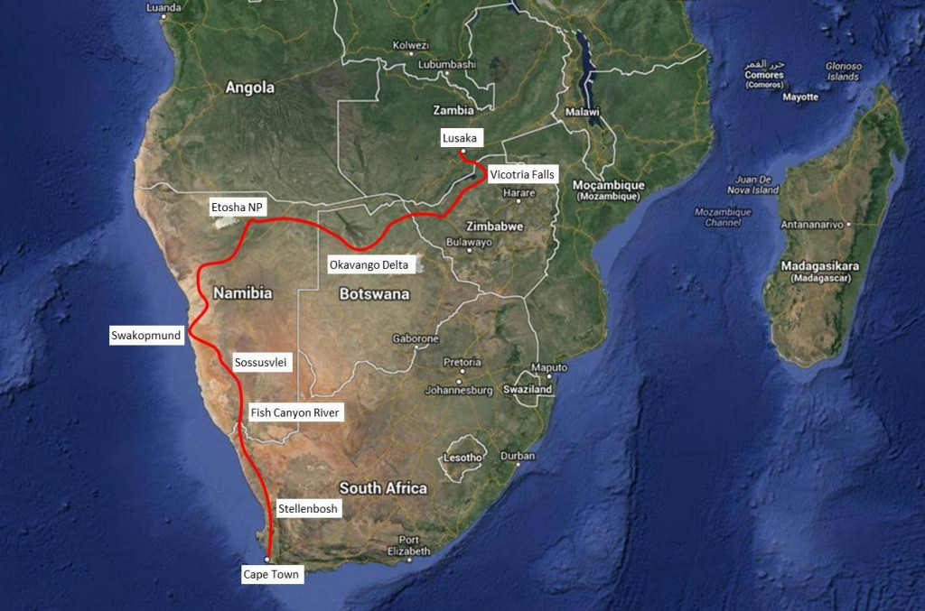 Southern Africa Route